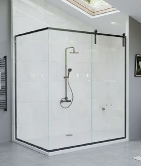 The Shower Lab Oban Corner Shower Enclosure